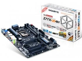 У Gigabyte на раскладе оперативная память Z77X-UD4H