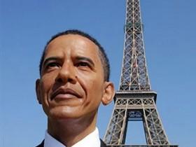 Обама,вощинная,фигура