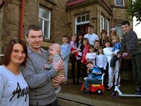 многодетная,семья,Великобритания