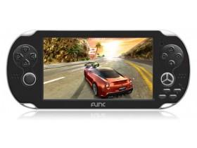 DFunc продемонстрировала  игровой аудиоплеер с полномочиями планшетника