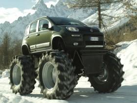Fiat Panda превратили в битфута