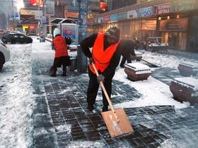 уборка,снега