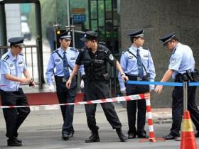 китайские сотрудники полиции
