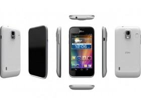 ZTE представит самый узкий Full HD телефон во всем мире