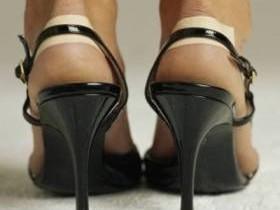 трудовая мозоль,ноги