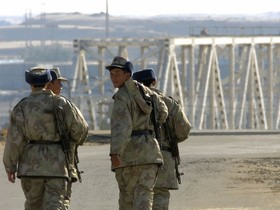 Узбекистан, пограничники
