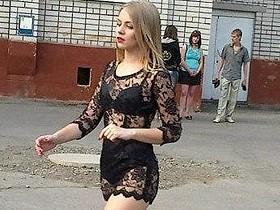 Настя Фоменко,модель,выпускница