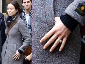 Оливия Уайлд расхвасталась обручальным кольцом (Фото)