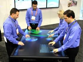 3М ,М Multi-Touch Table Prototype,