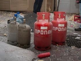 газовый баллон,взрыв