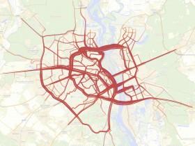Yandex установил наиболее нагруженные автодороги Киева