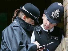 милиция,Лондона