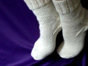 носки,вязаные