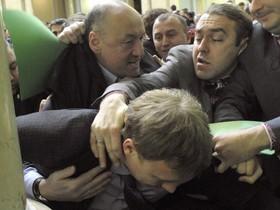 Потасовка,парламентарии