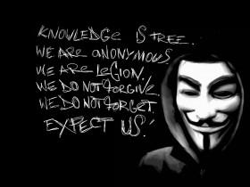 Хакеры из Anonymous