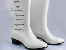 пластиковые ботинки