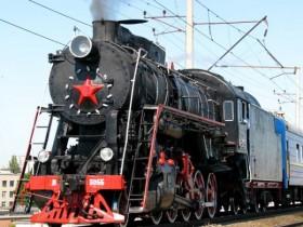 ретро-поезд