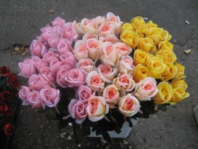 синтетические цветы