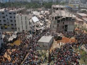 Бангладеш,обвал помещения