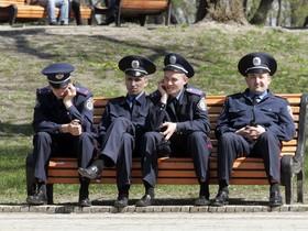 работники милиции