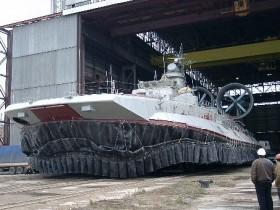 Украинцы сообщили в КНР самый крупный во всем мире корабль-амфибию
