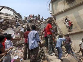 падение в Бангладеш