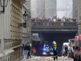 В центре Праги случился производительный взрыв, есть жертвы ФОТО
