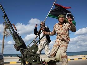 ливия,боевики