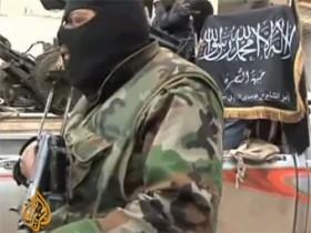 повстанец в сирии