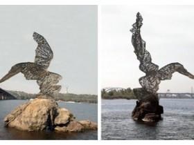 Необычная птица