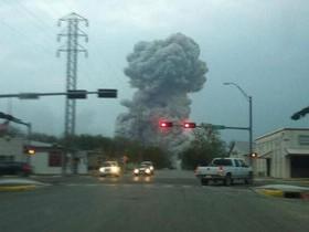 Техас,взрыв на химзаводе