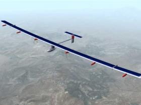 самолет,на солнечных аккумуляторах