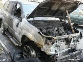 поджигание автомашины