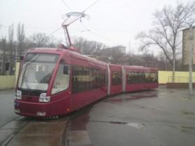 многосекционный трамвай