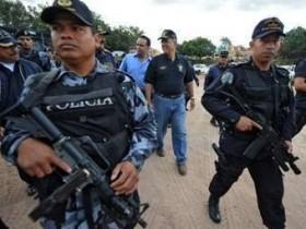 милиция,Гондураса