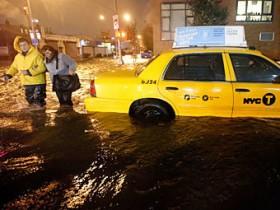 New-York,потоп,смерч