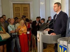 В. Кличко о неудавшейся встрече с Януковичем