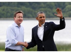 Обама,Кэмерон