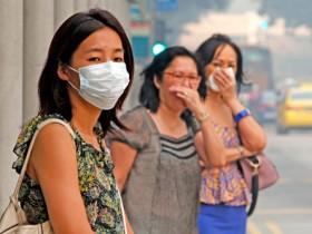 сингапур,загрязнение