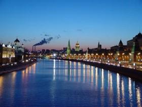 город Москва,речка