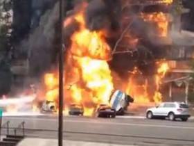 взрыв бензовоза