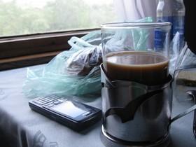 кофе в поезде