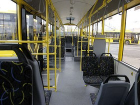 зал автобуса