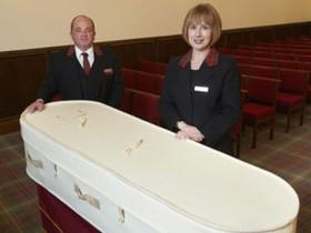 гроб из шерсти