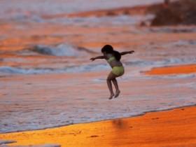 море,малыш