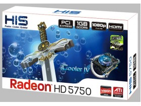 HIS,radeon,HD,5750,iCooler,IV