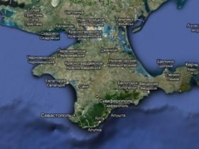 google maps крым