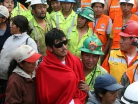 чили,забастовка шахтеров