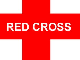 Ярко-красный Крест