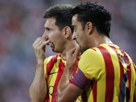 «Атлетико» и «Барселона»